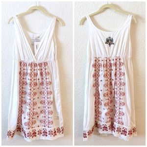 Anthropologie Odd Molly Dress Boho Embroidered
